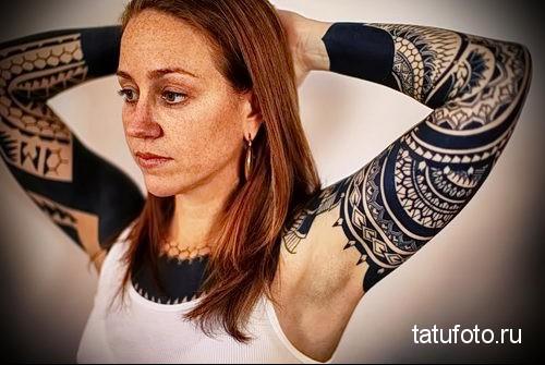 tattoo style dotwork girls 3
