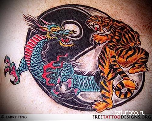 the tiger and the dragon tattoo 1