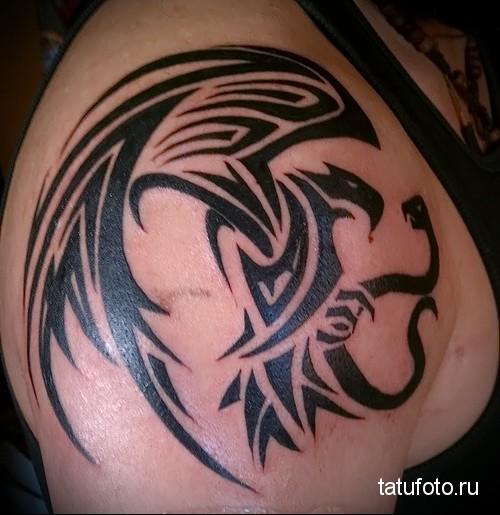 tribal tattoo eagle 2