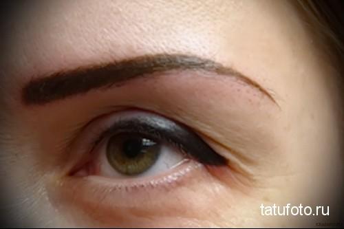 неудачный татуаж глаз 1