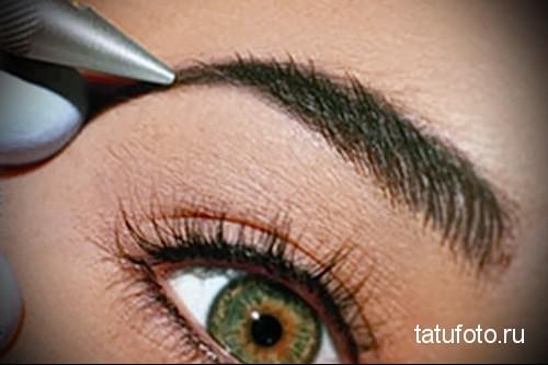 как делают татуаж глаз 1