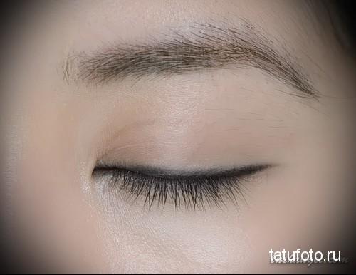 межресничный татуаж глаз фото до и после 3