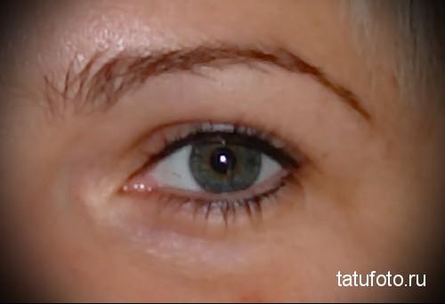 татуаж глаз в домашних условиях 1