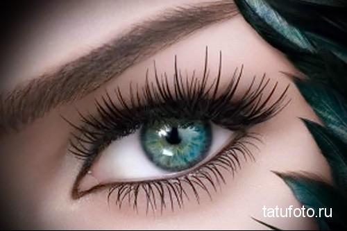 татуаж глаз межресничное пространство 1
