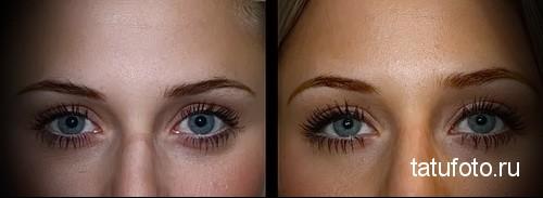 татуаж глаз фото до и после отзывы 3