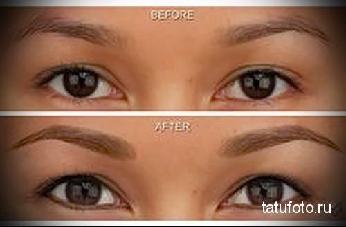 татуаж глаз фото до и после отзывы 5