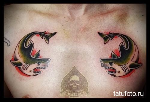 Shark Old School Tattoo 9