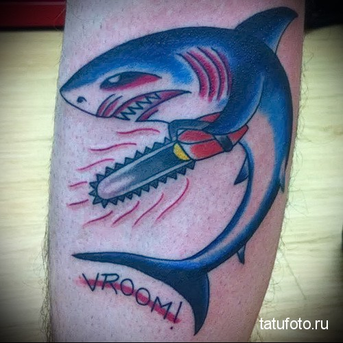 shark tattoo for the bulls 2