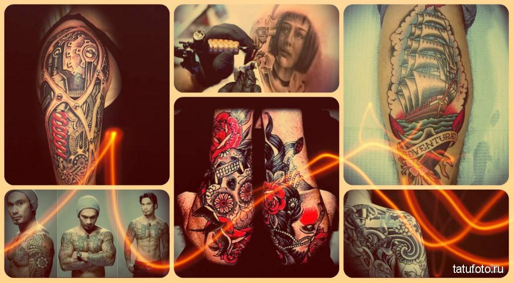 Профессиональные татуировки - фото готовых работ от лучших мастеров