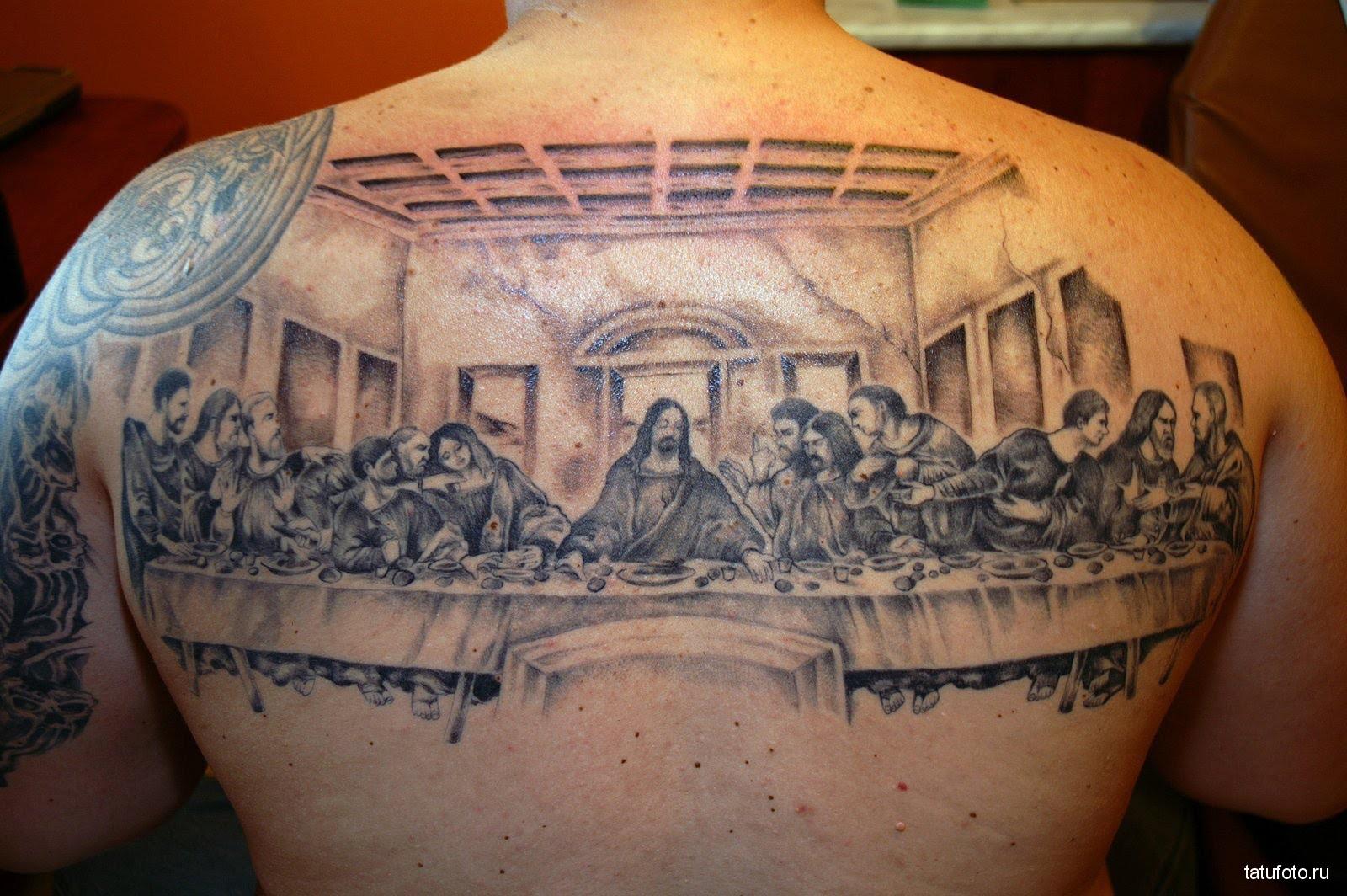 Были ли тату у святых