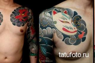 Японская татуировка 36