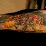 фото с татуировкой пчела -9