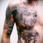художественная татуировка для мужчин 3 фото