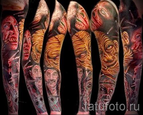 художественная татуировка 32 фото