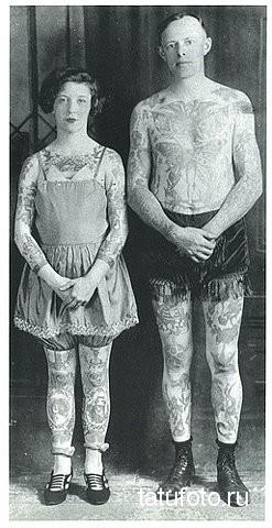 История возникновения татуировки - примеры на фото 11