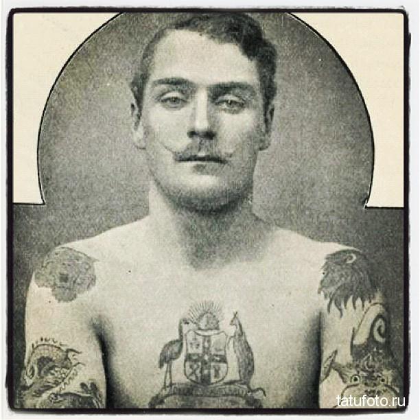 История возникновения татуировки - примеры на фото 12