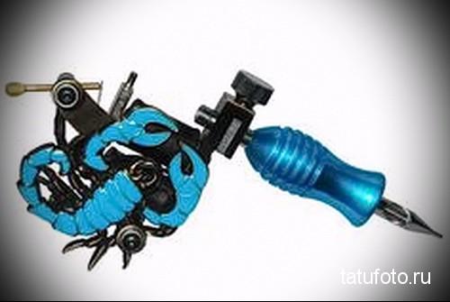 Оборудование в современной татуировке фото 2342 423 423 23