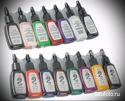 Пигменты и краски для татуировки фото 123123 12 12  1