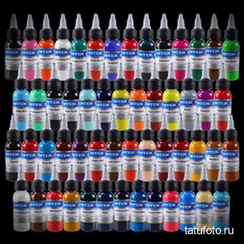 Пигменты и краски для татуировки фото 12412 12