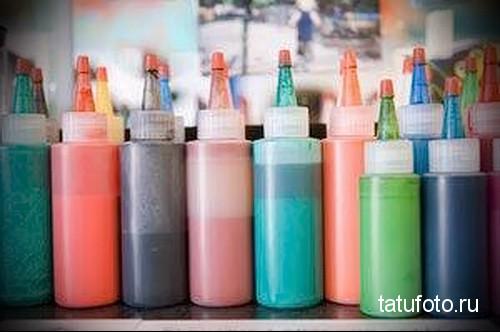 Пигменты и краски для татуировки фото 234 123 ё241 5 23513