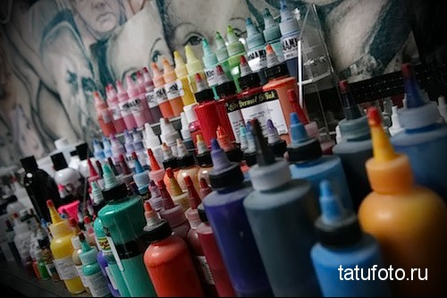 Пигменты и краски для татуировки фото 34 14ё2 135 23514 123 2