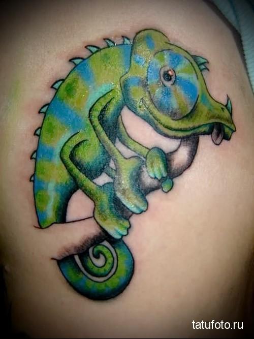 Пресмыкающиеся в татуировке 23423234234