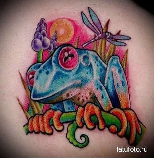 Пресмыкающиеся в татуировке 6