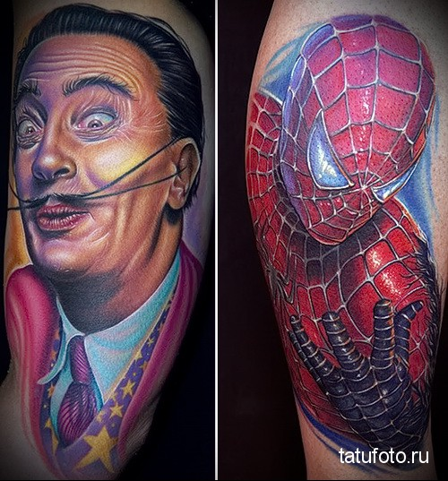Профессиональные татуировки фото работ 1234124124123