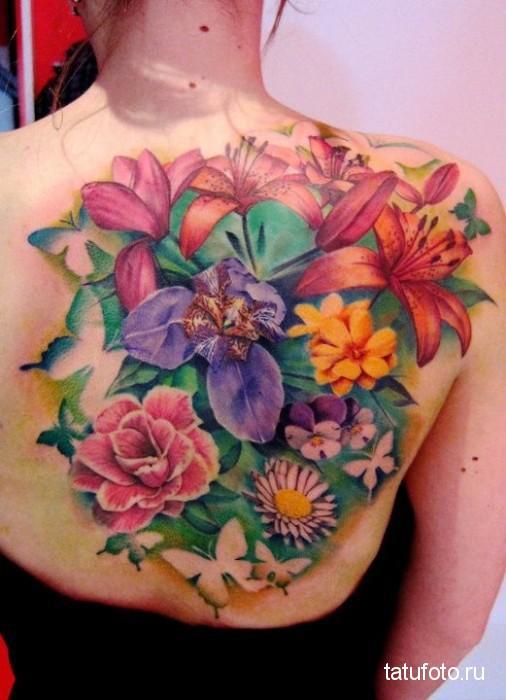 Развитие искусства тату - примеры на фото 8