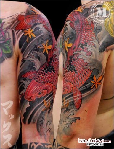 Японская татуировка 10