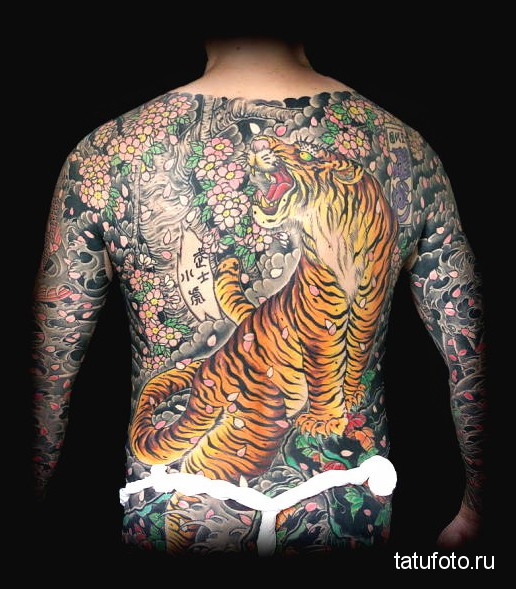 Японская татуировка 2