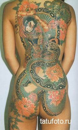 Японская татуировка 25