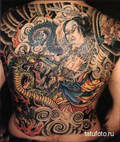 Японская татуировка 34