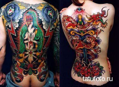 Японская татуировка 35
