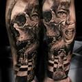 художественная татуировка для мужчин 4 фото