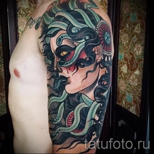 художественная татуировка для мужчин 6 фото