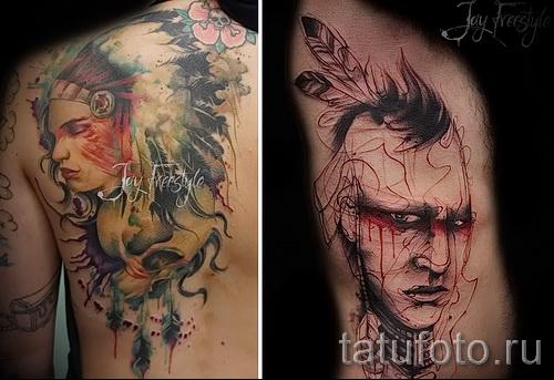 художественная татуировка 23 фото