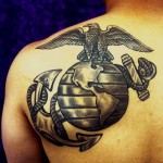 Marine Corps tattoo 1