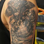 Marine Corps tattoo 2