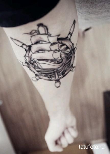 Marine tattoo photo 1