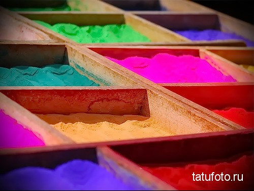 Pigments and dyes for tattooing 23412312125к1234