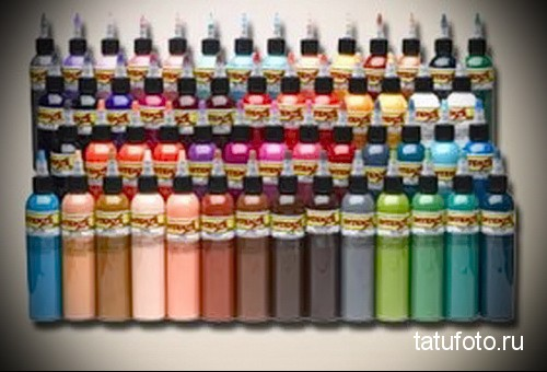 Pigments and dyes for tattooing 23423423234