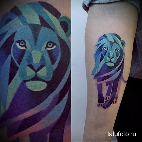 Tattoo animal predators 234523 23 24 23