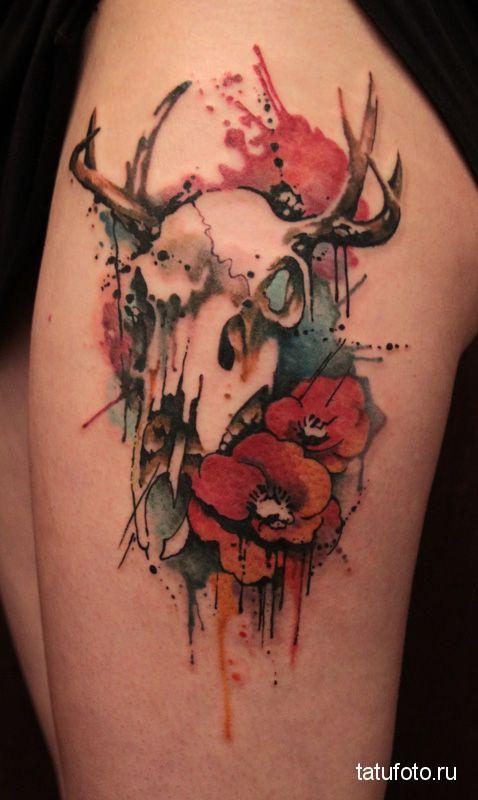Tattoo animal skulls 2