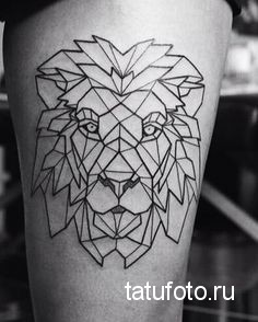 Tattoo geometry animals 1