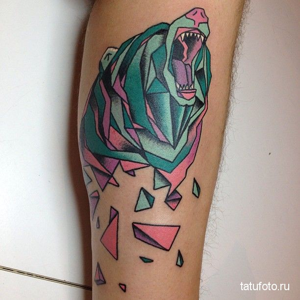 Tattoo geometry animals 2