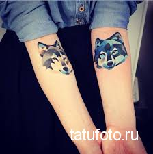 Tattoo geometry animals 6