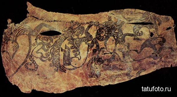 Tattoos in ancient times 6