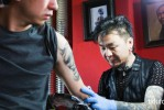 The development of art tattoo 1