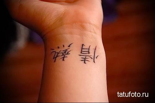 kanji tattoo on your wrist 1